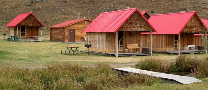 Wilderness Edge Rustic Cabin Exterior