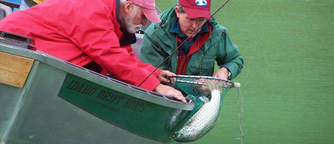 Fishing on Cliff Lake