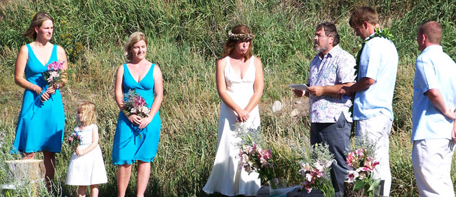 Wilderness Edge Caters to Weddings